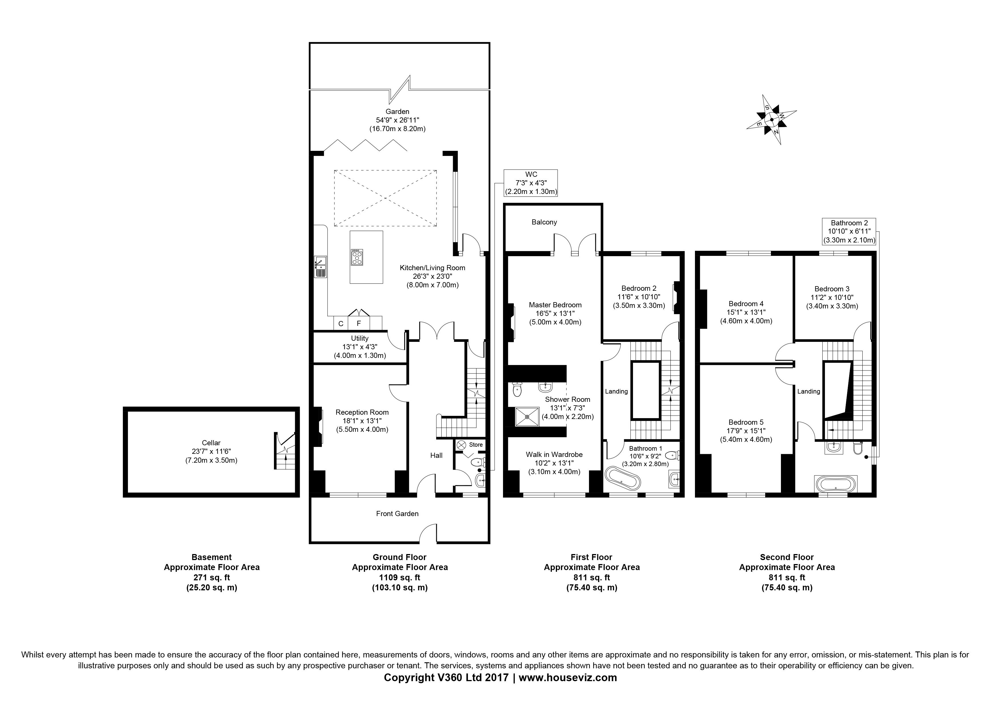 Ritherdon Road, Heaver Estate SW17, 5 bedroom property for
