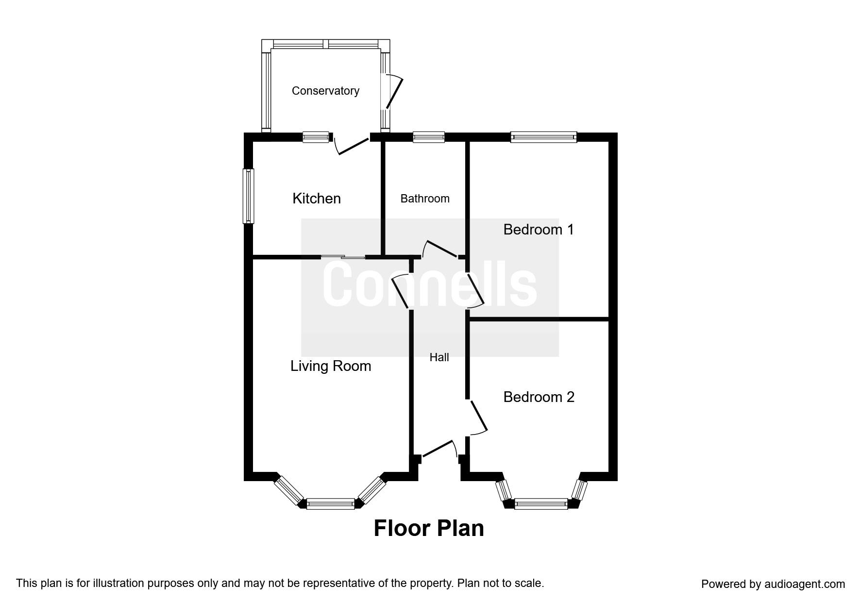 Brockley Crescent, Ipswich IP1, 2 bedroom semi-detached