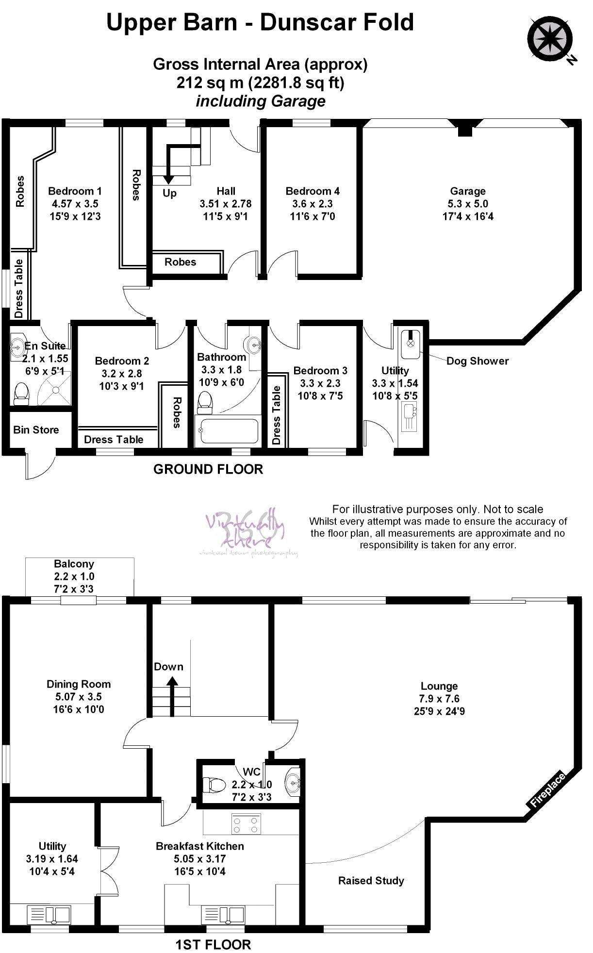Upper Barne, Dunscar Fold, Egerton BL7, 4 bedroom semi