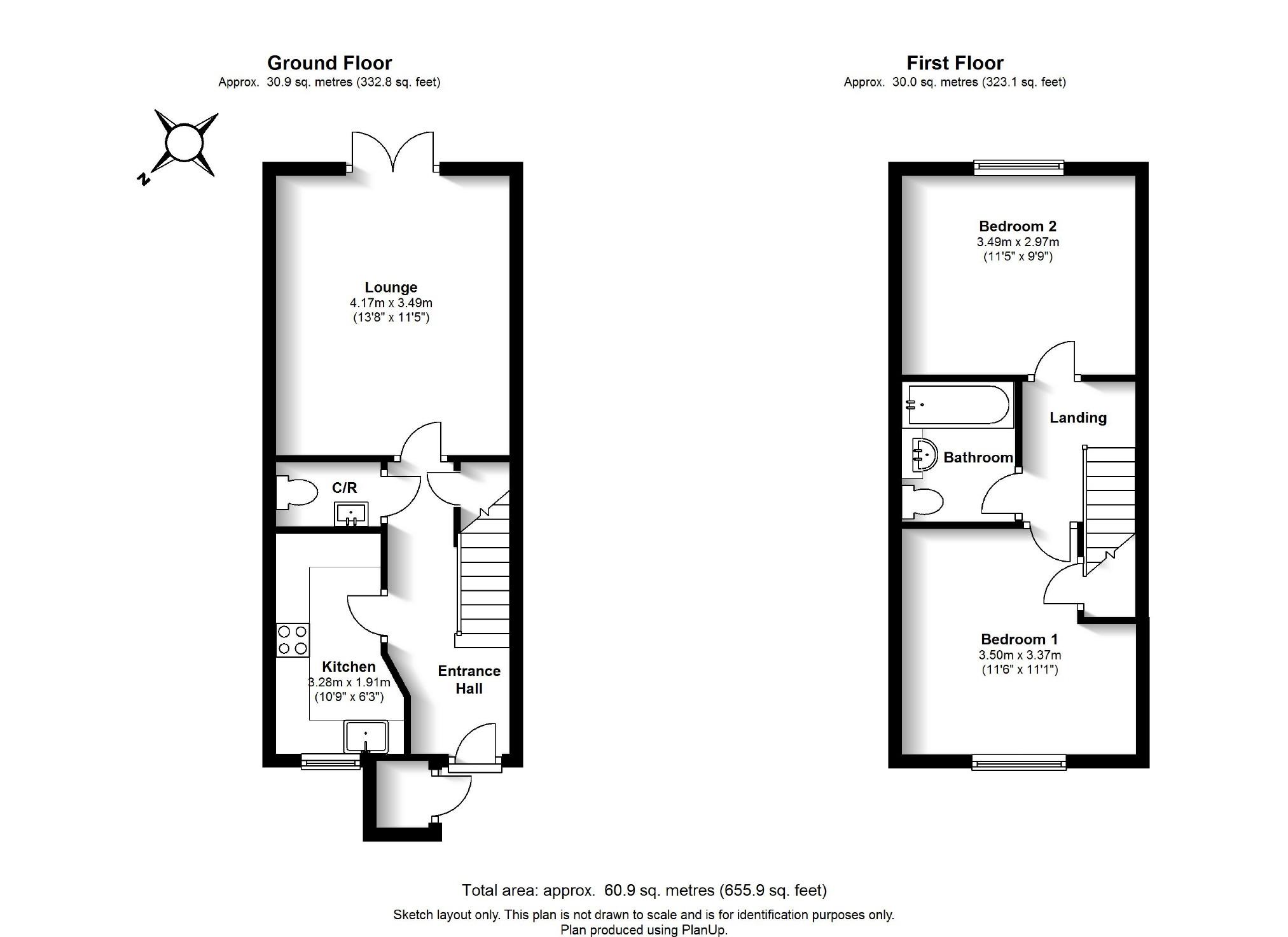 Ennerdale Drive, Watford WD25, 2 bedroom terraced house to