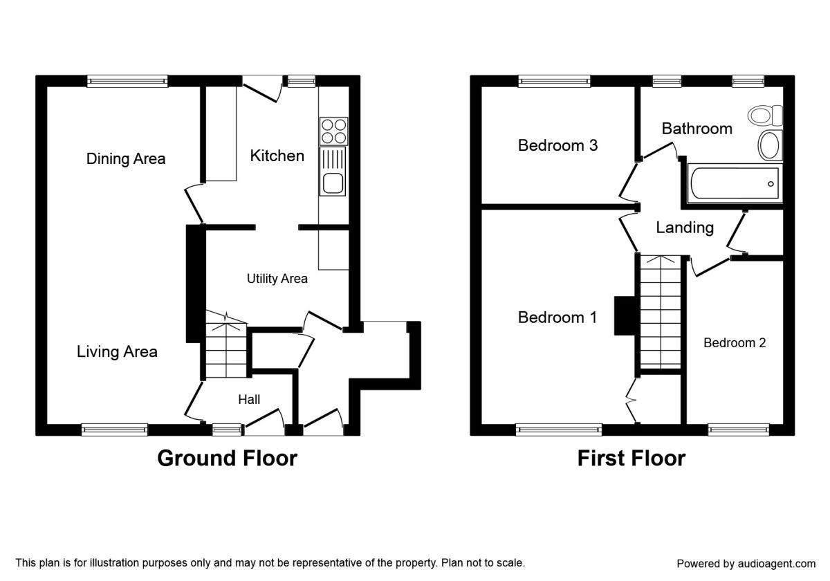 Toll House Road, Rednal, Birmingham B45, 3 bedroom semi