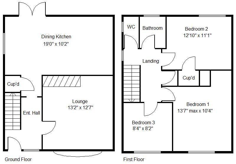 Hazel Road, Edlington, Doncaster DN12, 3 bedroom semi