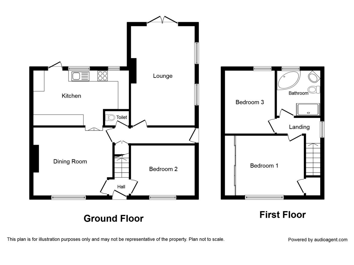 The Avenue, Glenfield, Leicester LE3, 3 bedroom semi