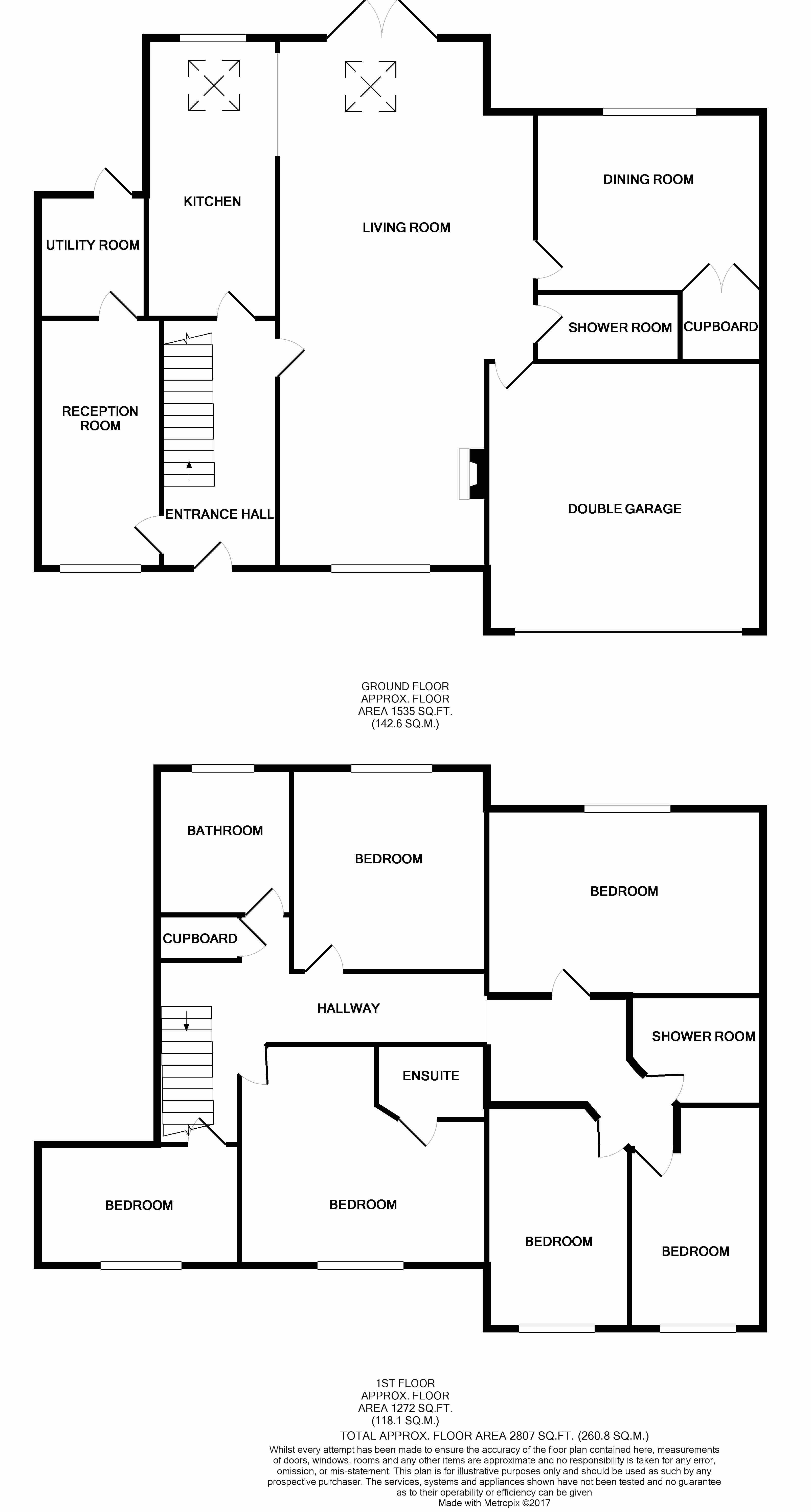 Havant Road Horndean Po8 6 Bedroom Detached House For