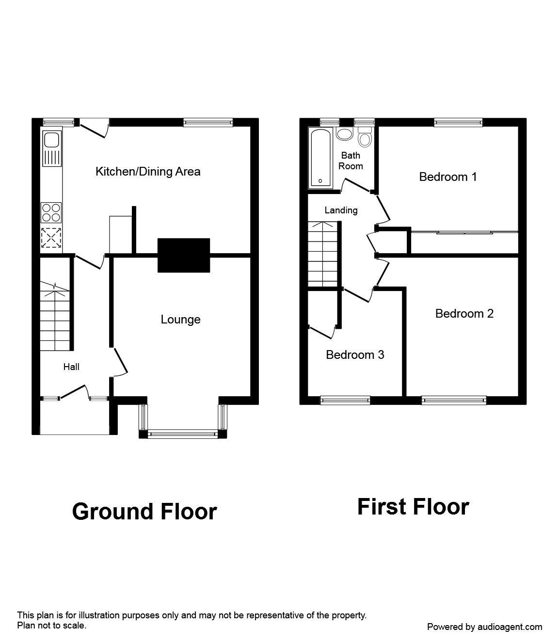 Oliver Road, Swanley BR8, 3 bedroom semi-detached house
