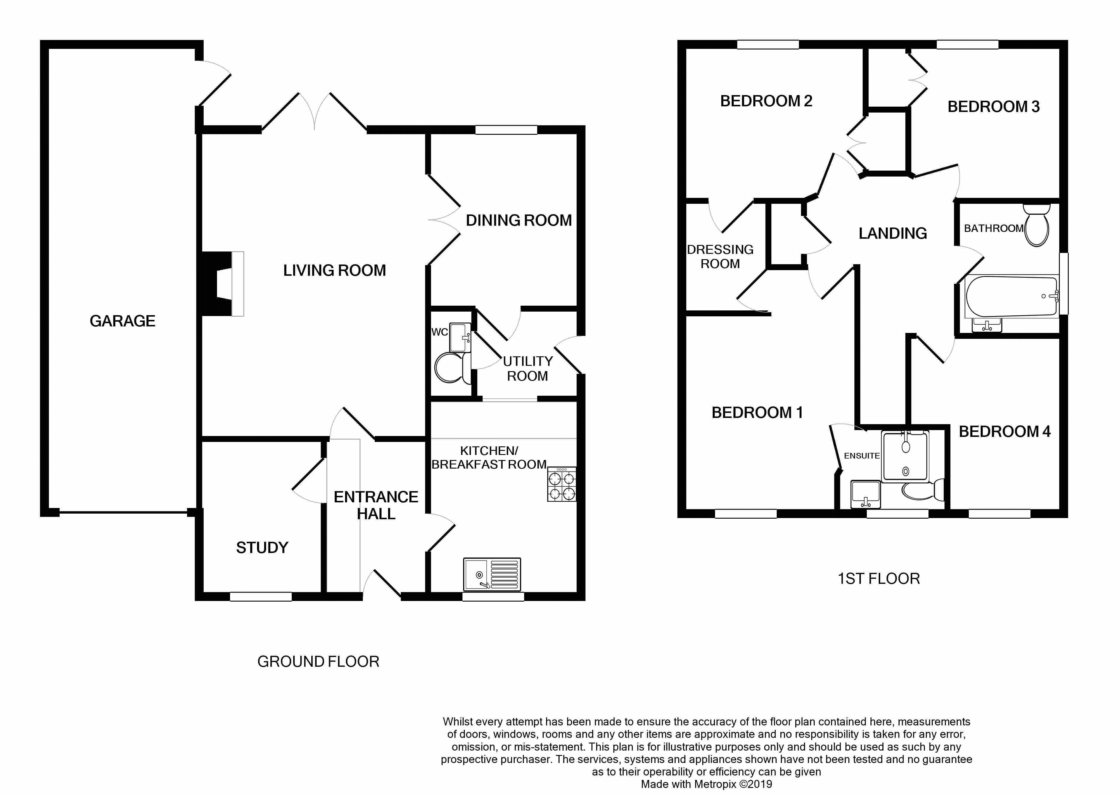 Bunyan Close, Thorpe St. Andrew, Norwich NR7, 4 bedroom