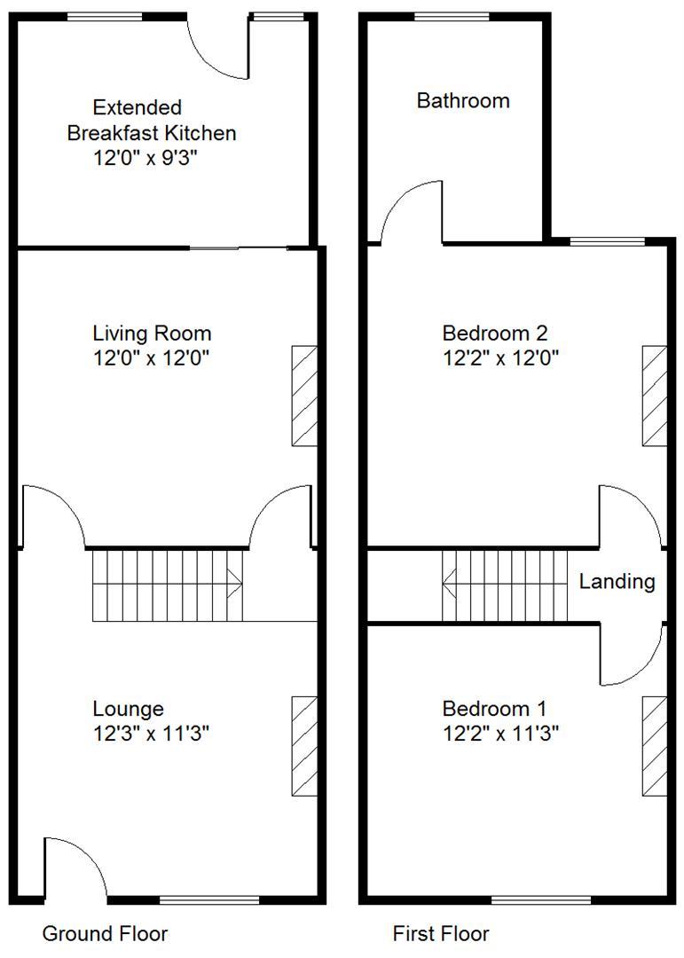 Abbott Street, Hexthorpe, Doncaster DN4, 2 bedroom