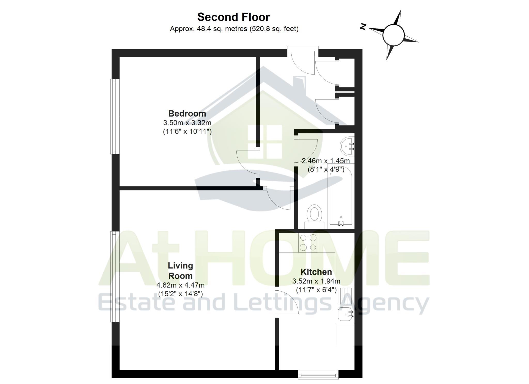 Arran Court, Gilligan Close, Horsham RH12, 1 bedroom flat