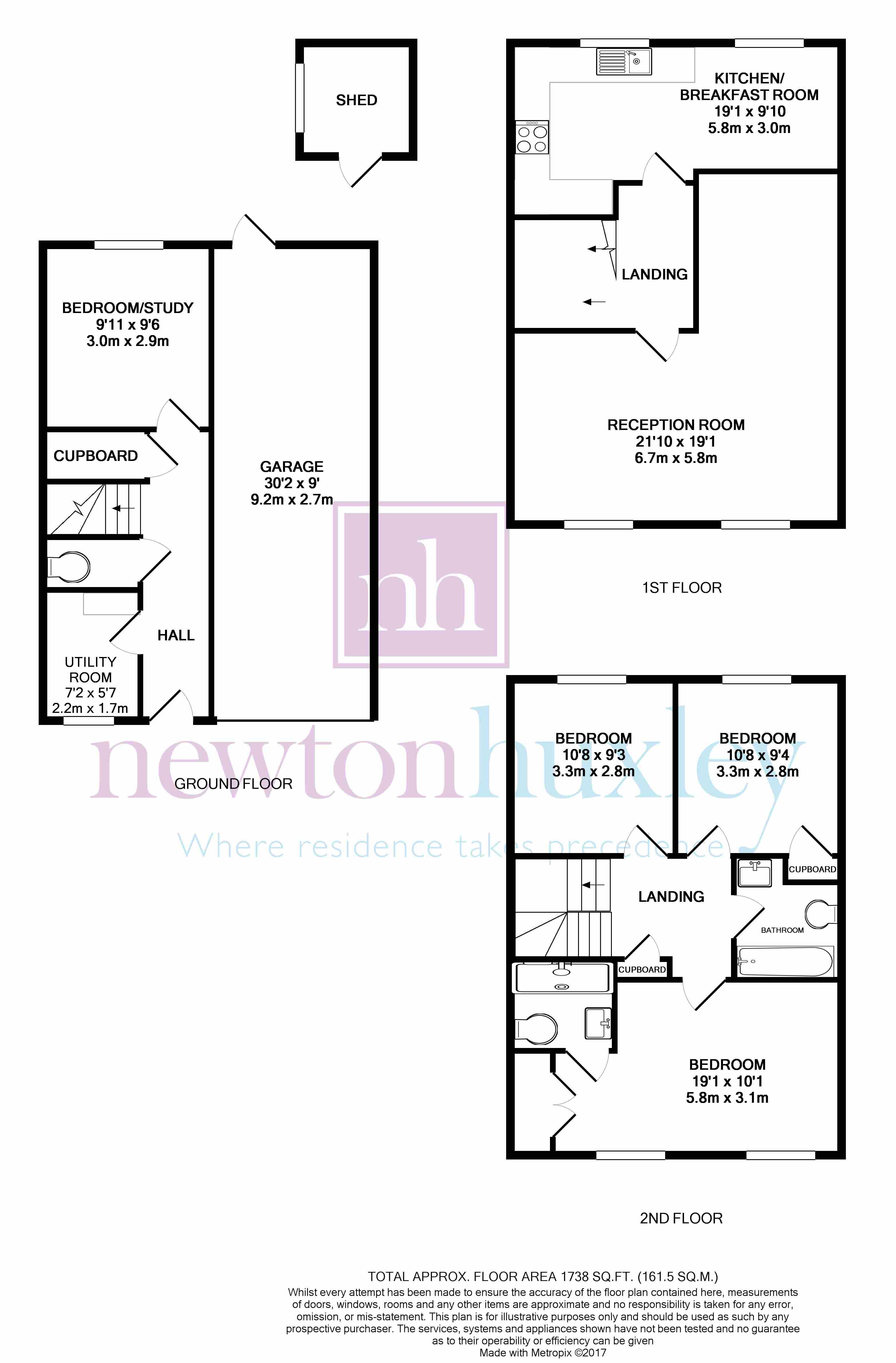 4 bed property for sale in Ditton Reach, Thames Ditton KT7
