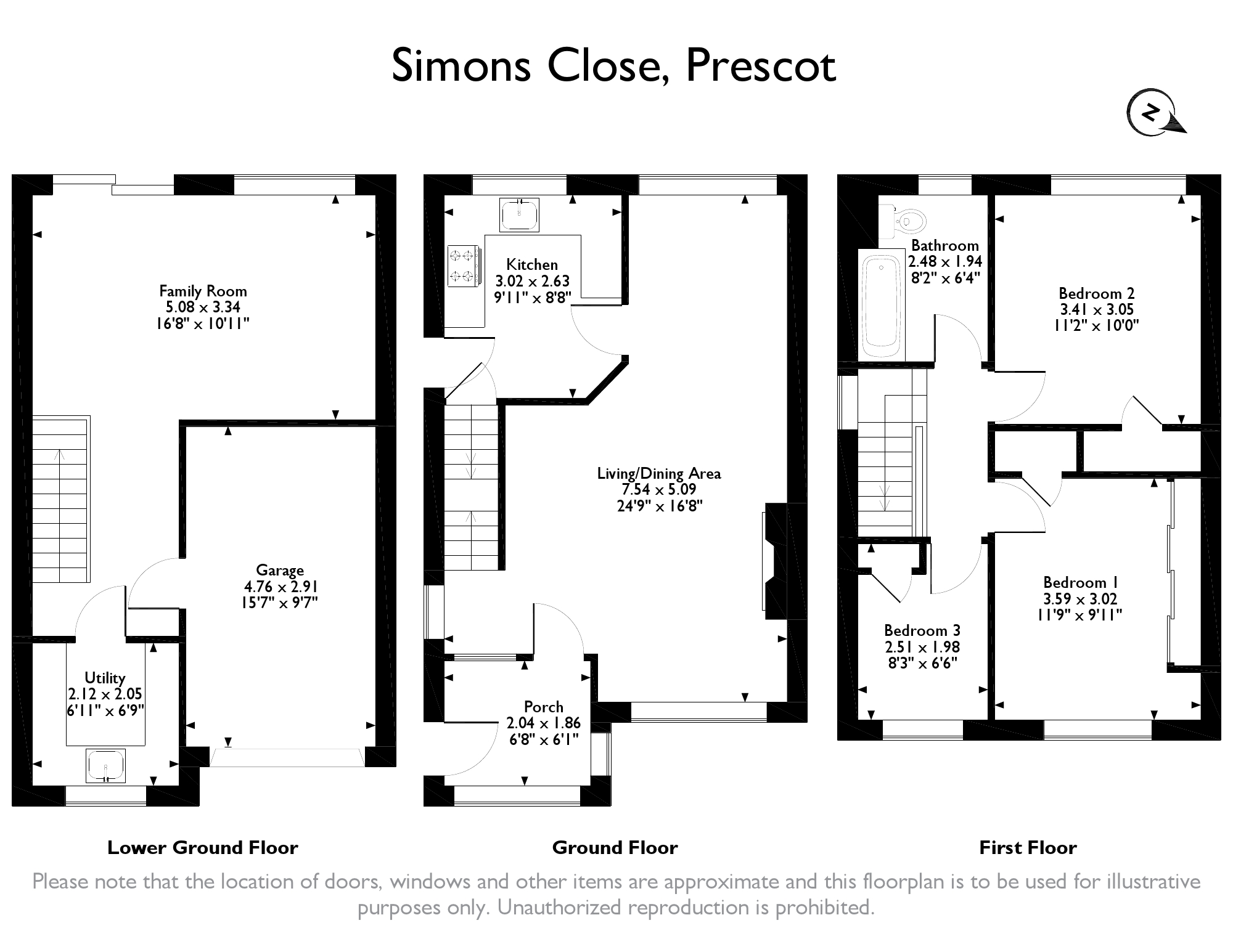 Simons Close, Prescot L35, 3 bedroom semi-detached house