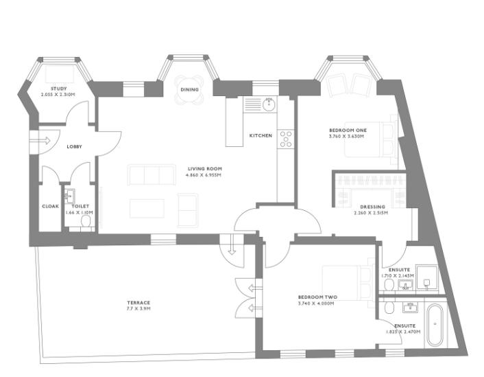 Plot 8, Castle House, 27 London Road, Royal Tunbridge
