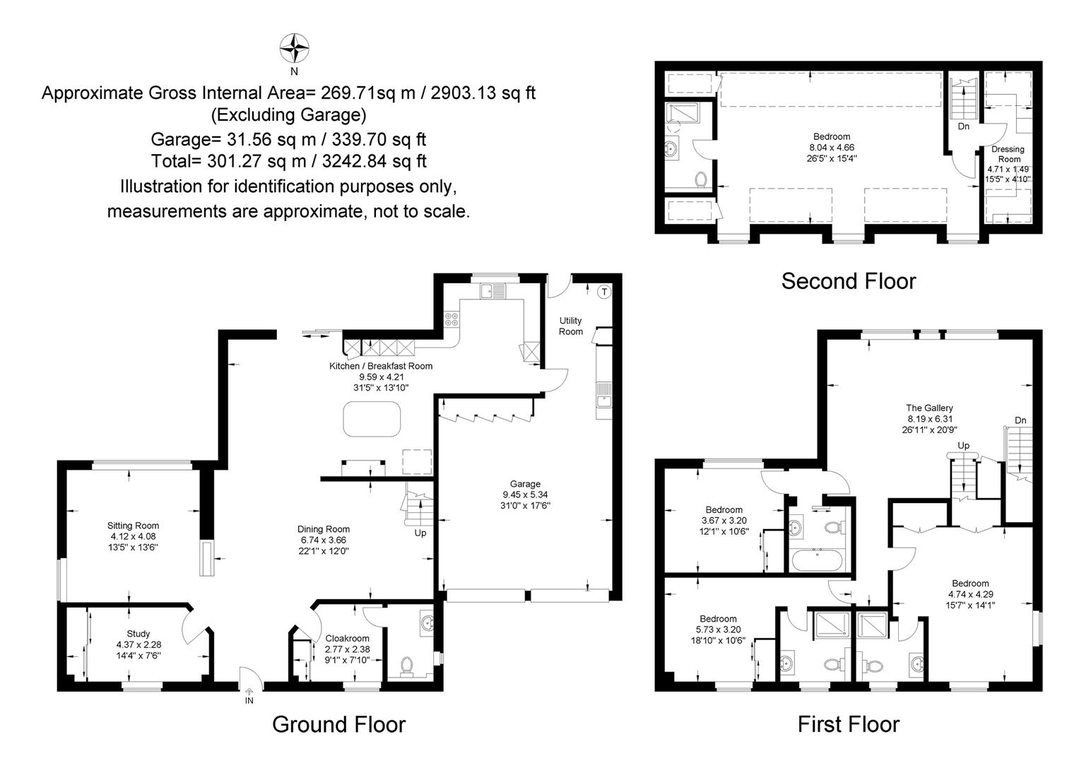 4 bed detached house for sale in Bascote, Southam