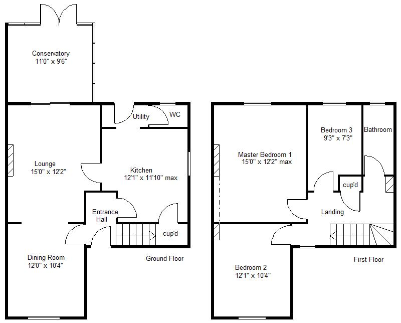 Hawthorne Crescent, Skellow, Doncaster DN6, 3 bedroom semi