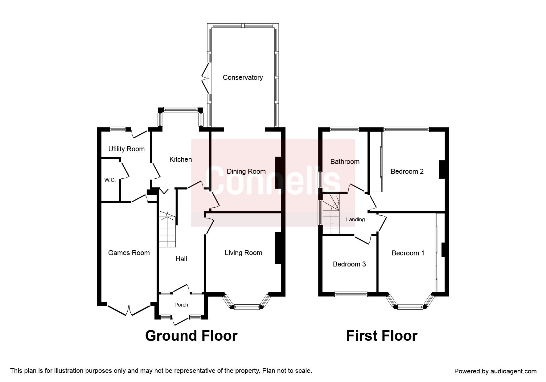 Mason Crescent, Penn, Wolverhampton WV4, 3 bedroom link