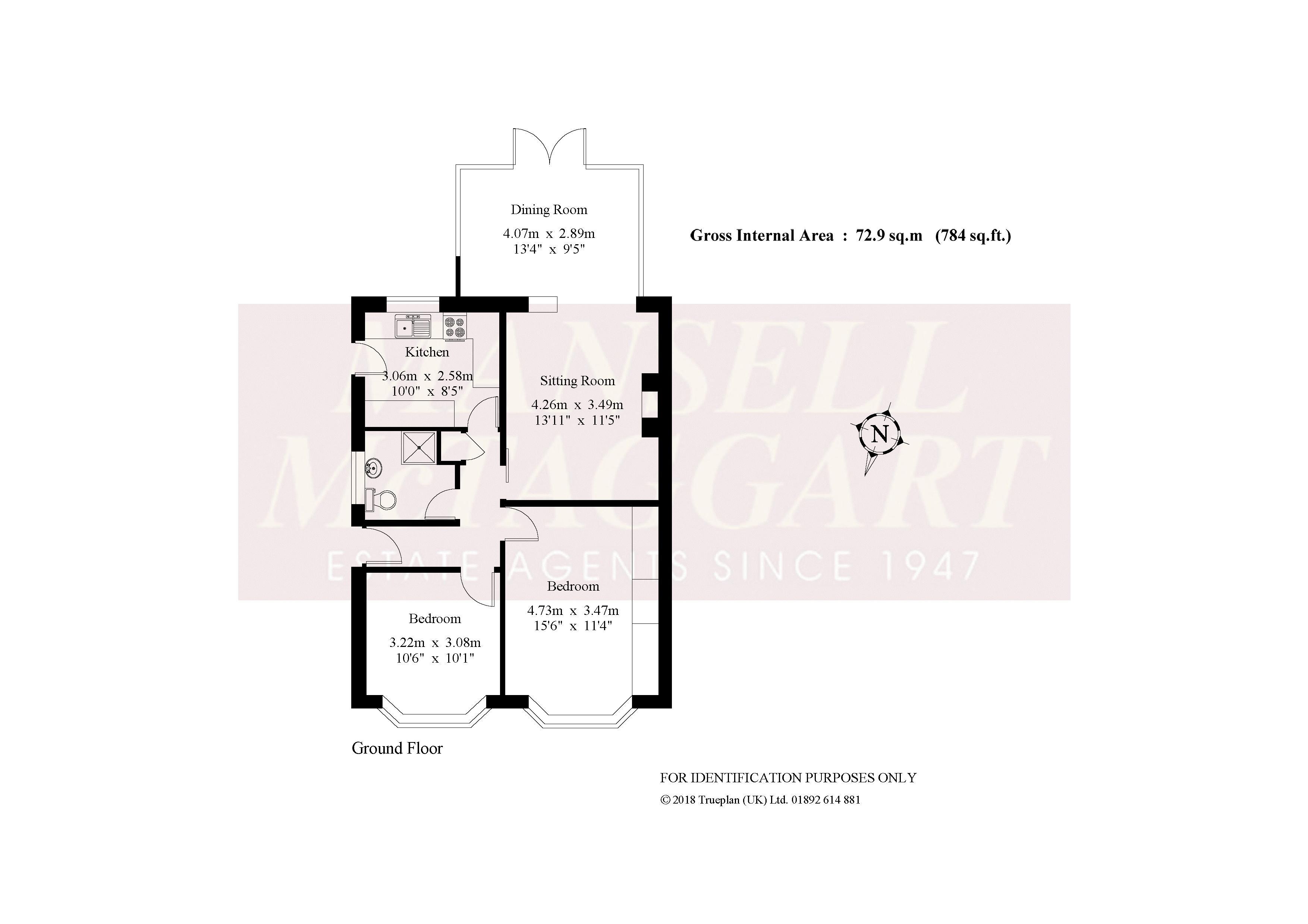 Blundell Avenue, Horley RH6, 2 bedroom semi-detached