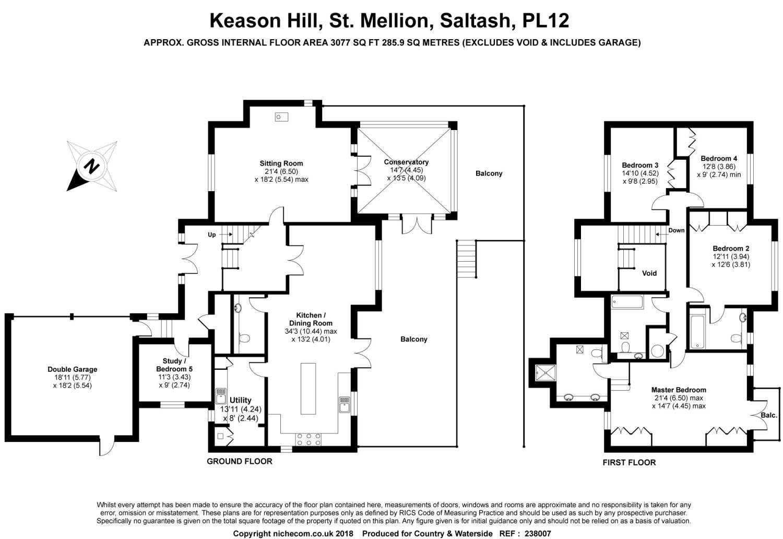 St Mellion Saltash Cornwall Pl12 Detached House For