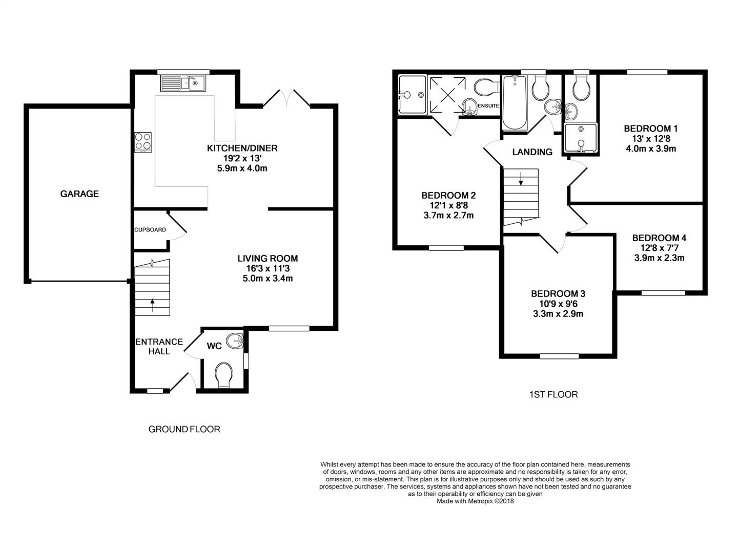 New Home 4 Bed Detached House For Sale In Byron Close