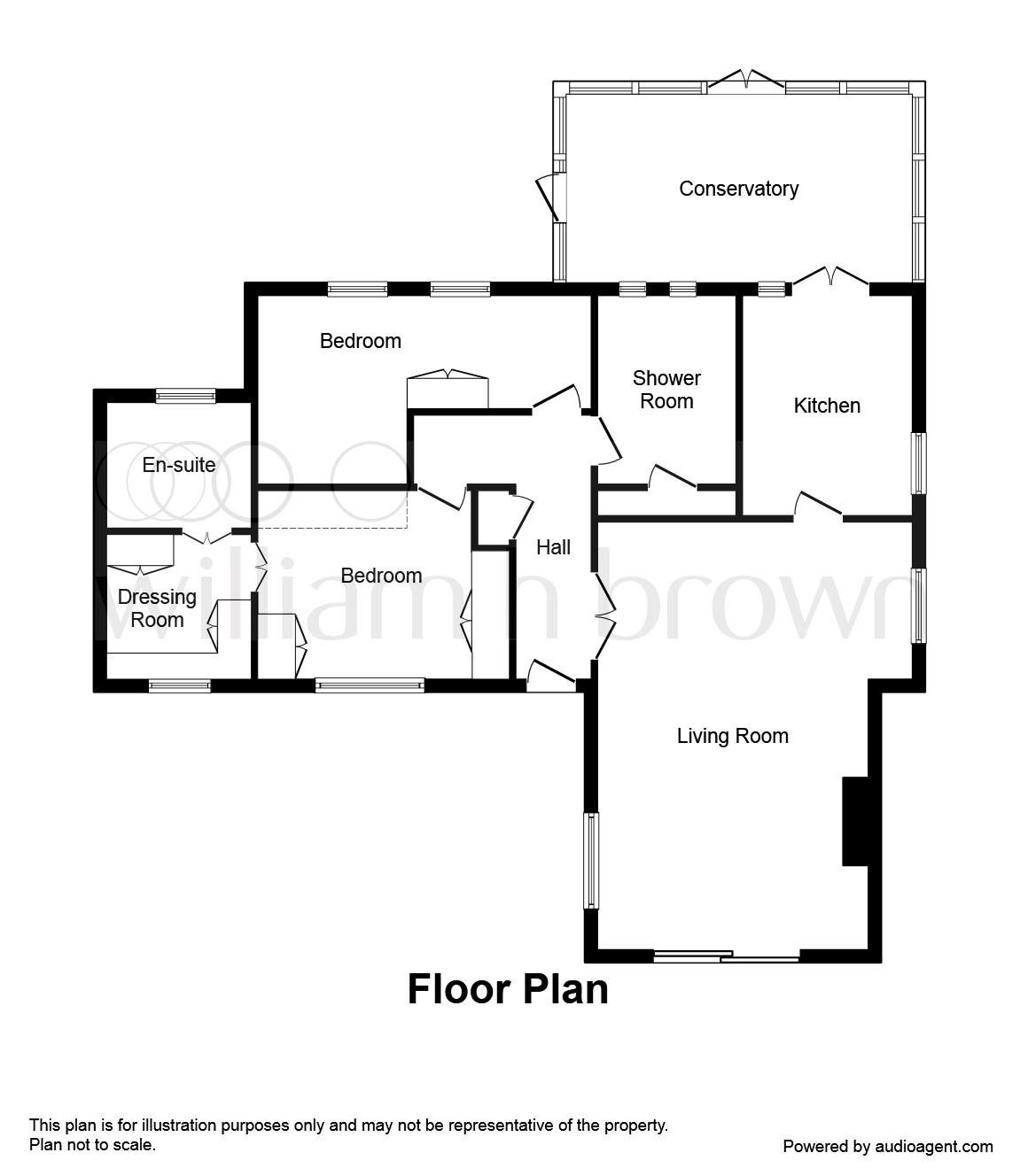 Wardour Drive, Grantham NG31, 2 bedroom detached bungalow