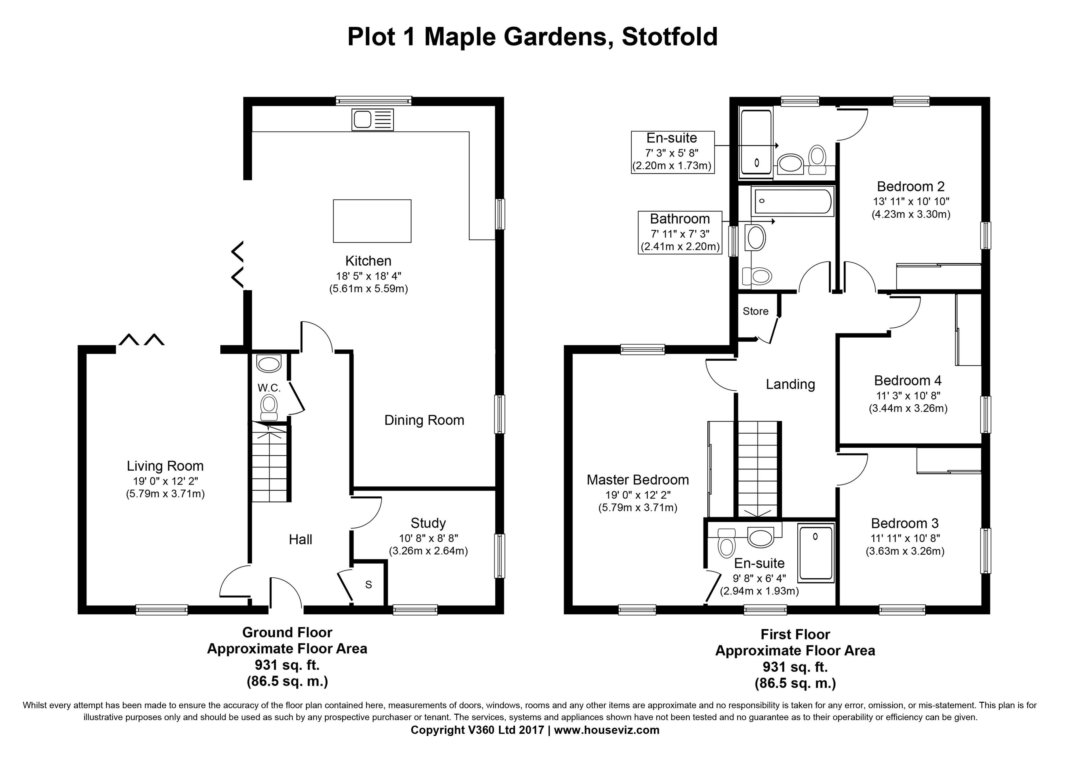 Maple Gardens, Stotfold SG5, 4 bedroom detached house for