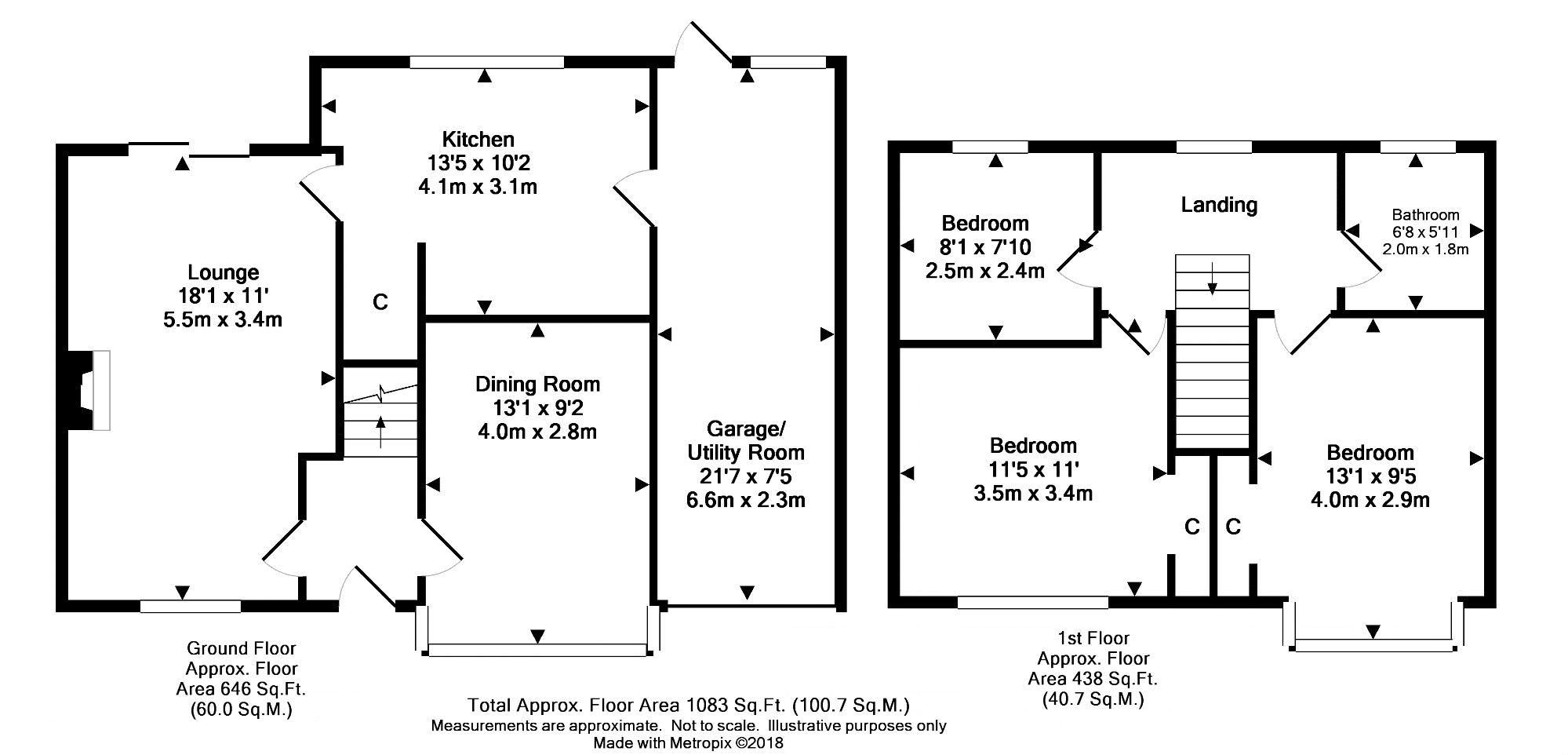 Manor Green Road, Epsom KT19, 3 bedroom detached house for