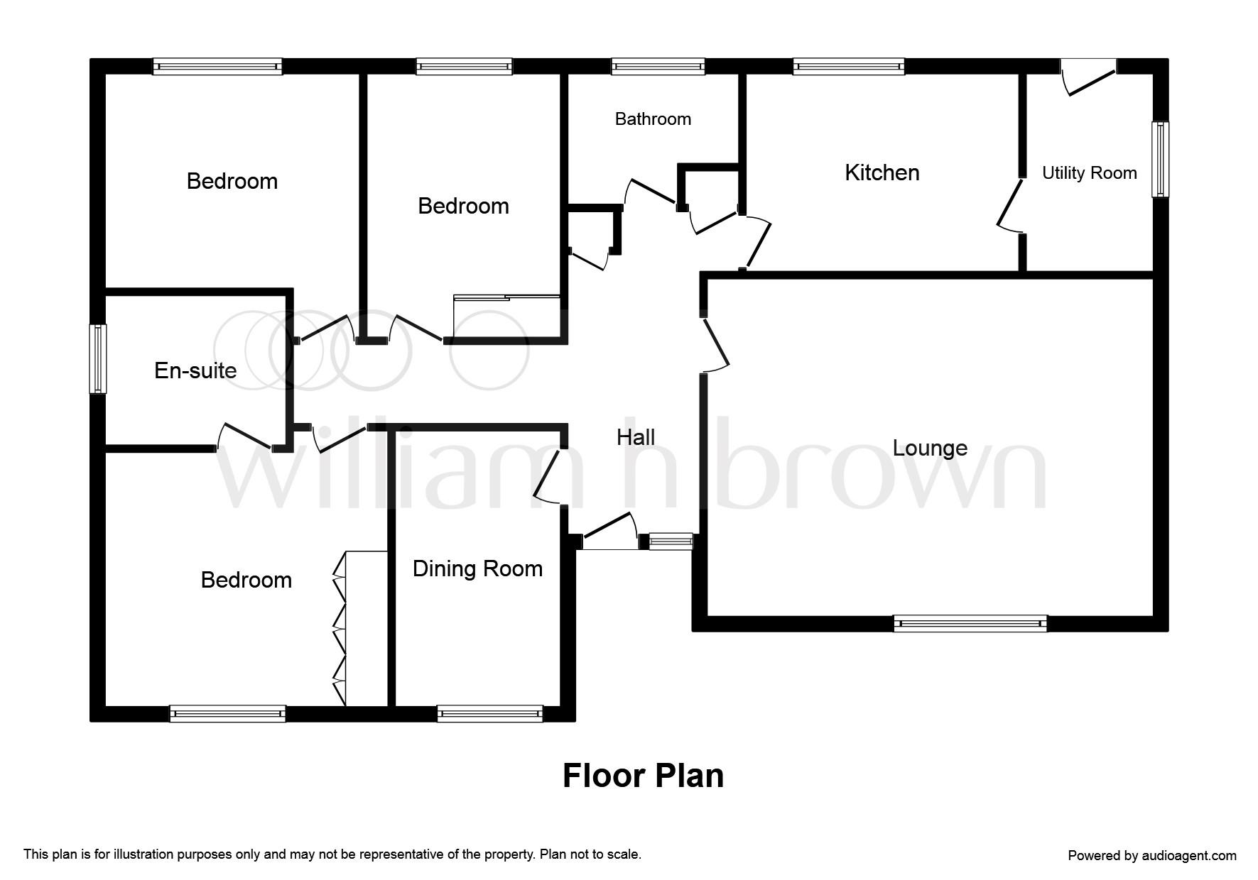 Larklands, Longthorpe, Peterborough PE3, 3 bedroom