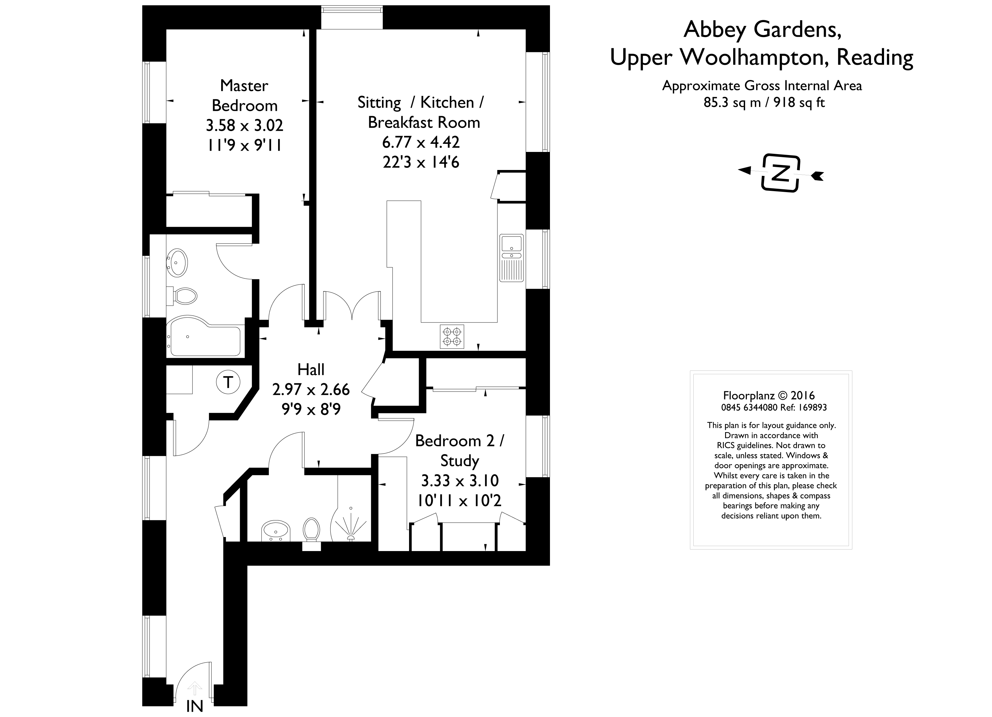 2 Bed Flat To Rent In Abbey Gardens Upper Woolhampton