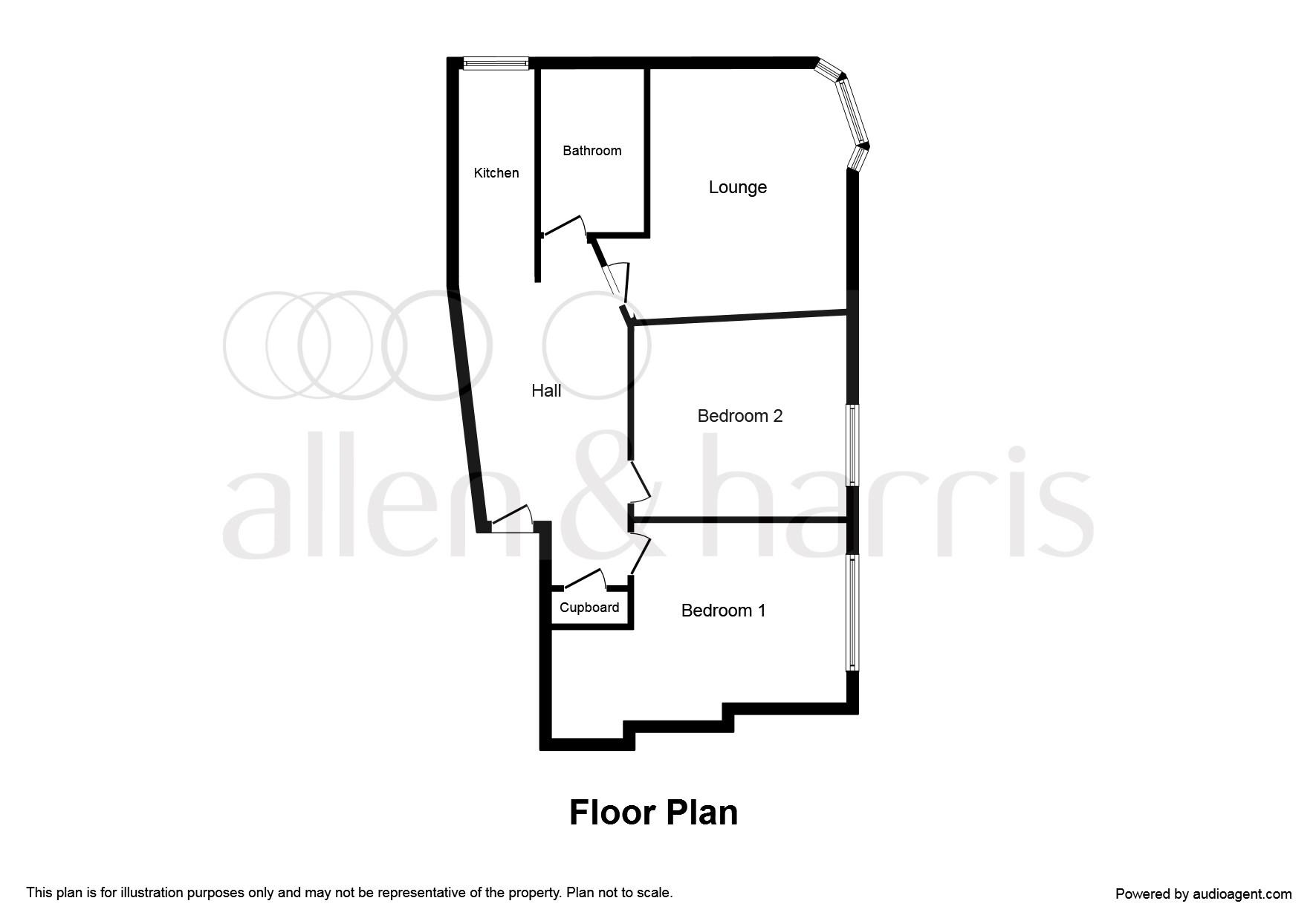 Stewart Street, Clydebank G81, 2 bedroom flat for sale