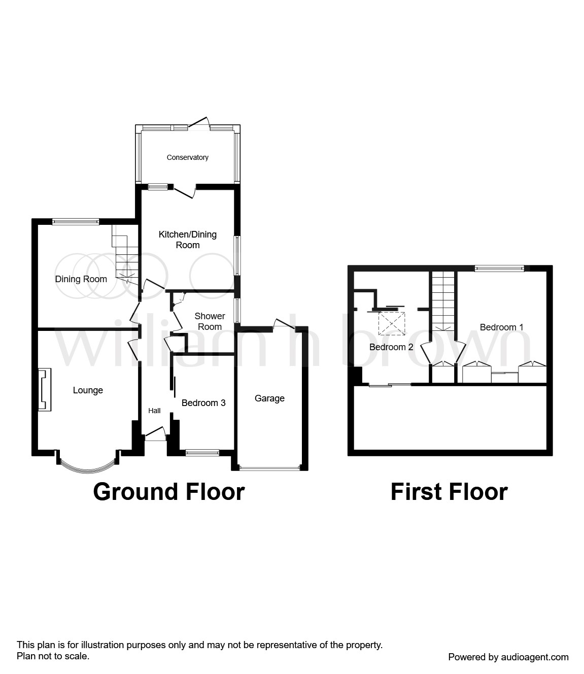 Manor Close, Ossett WF5, 3 bedroom semi-detached bungalow