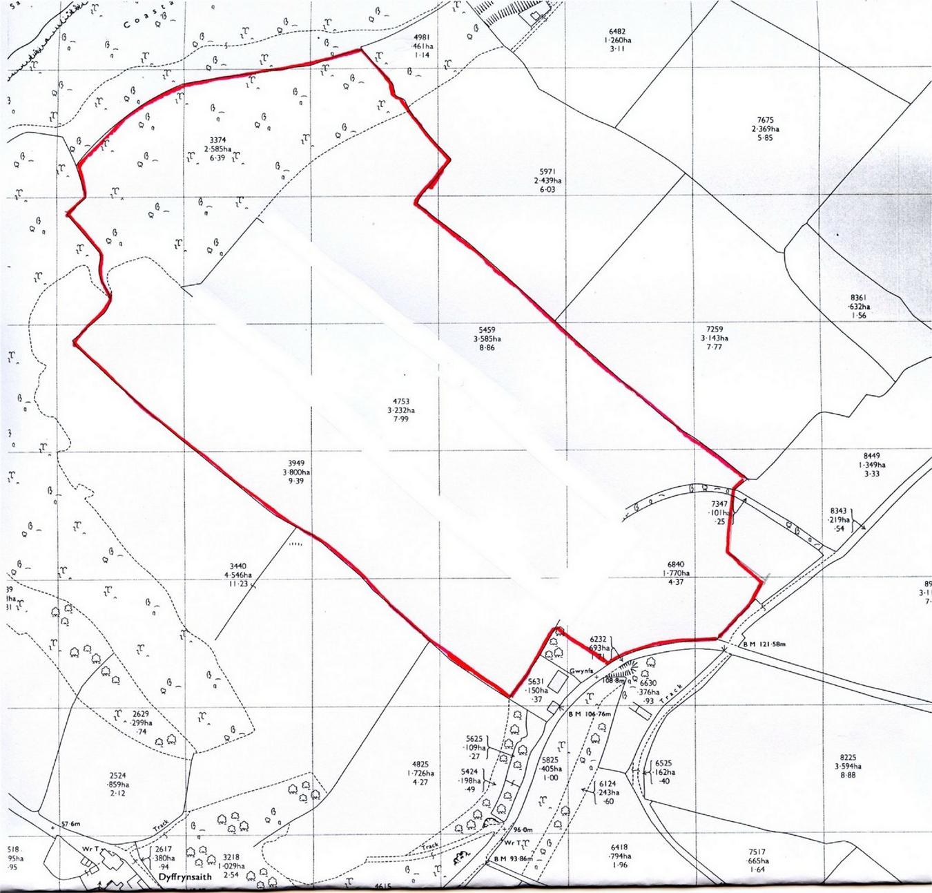 Land For Sale In 36 Acres Land At Penbryn Tresaith
