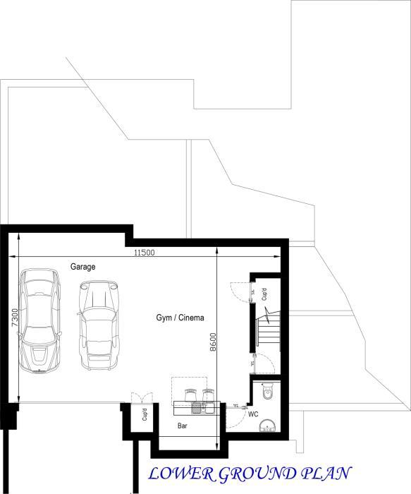 detached garage wiring details