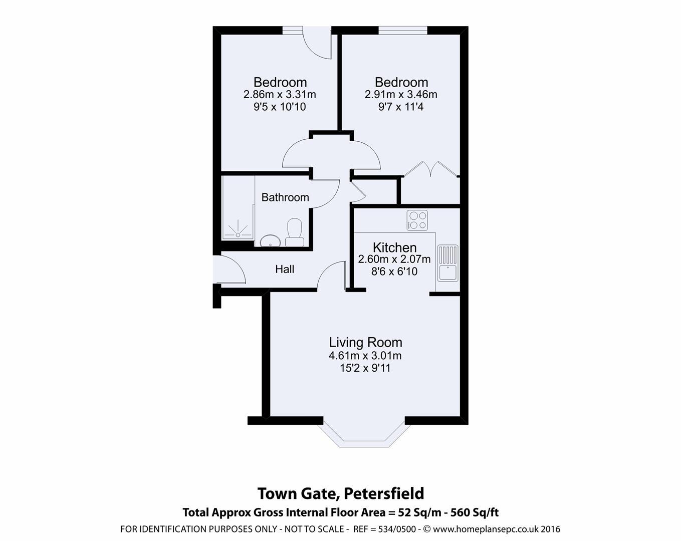 King George Avenue Petersfield Gu32 2 Bedroom Flat For Sale