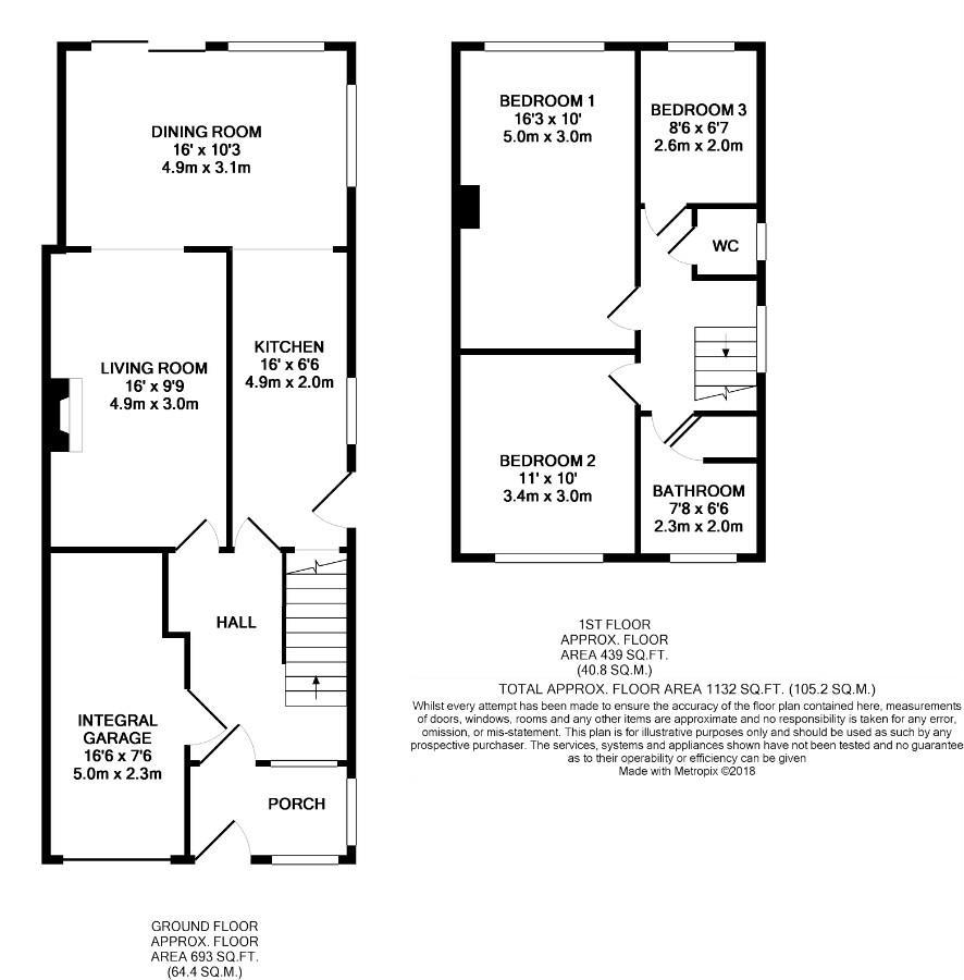Villiers Street, Leamington Spa CV32, 3 bedroom semi