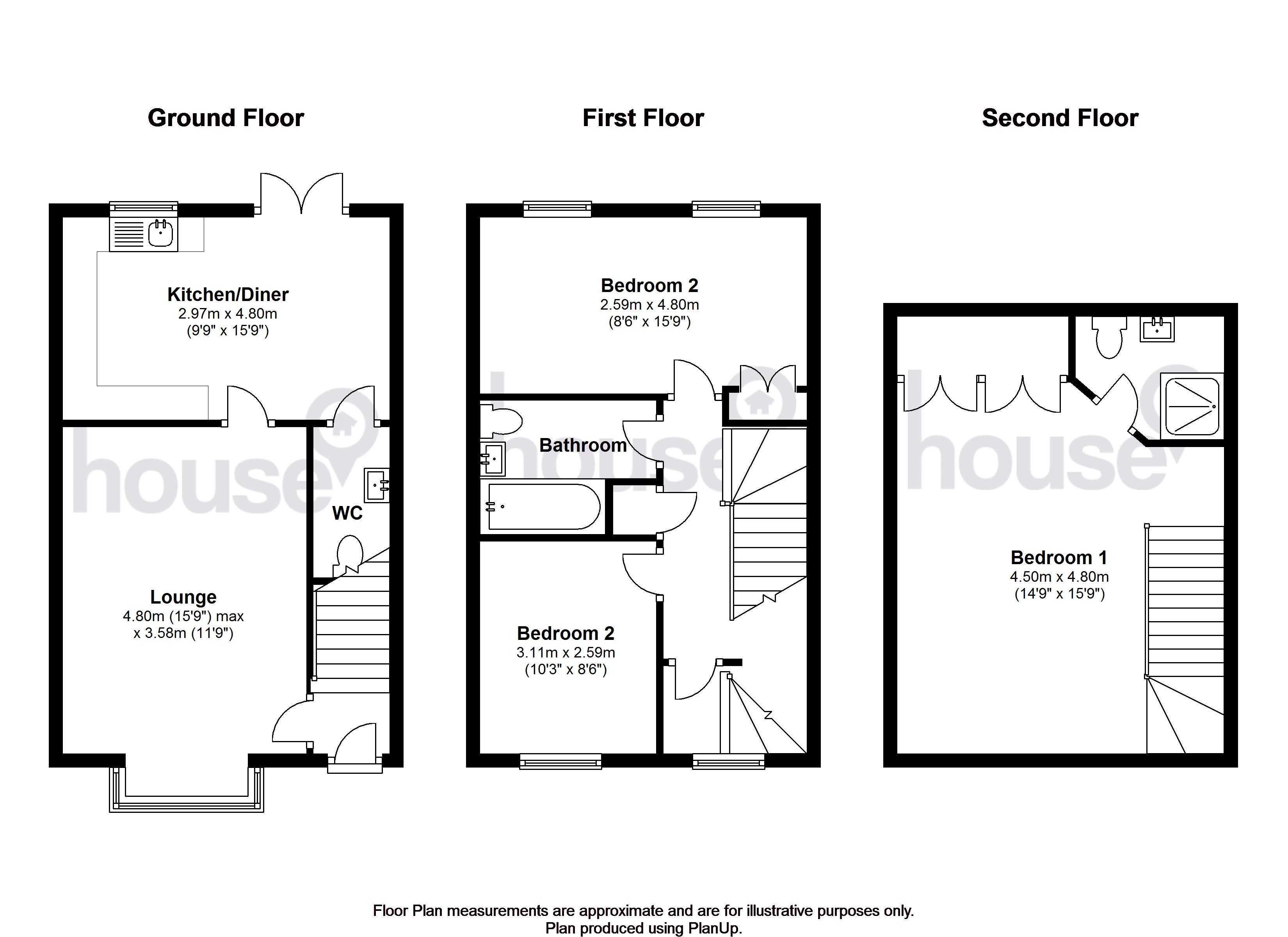 Plover Road, Minster On Sea, Sheerness ME12, 3 bedroom