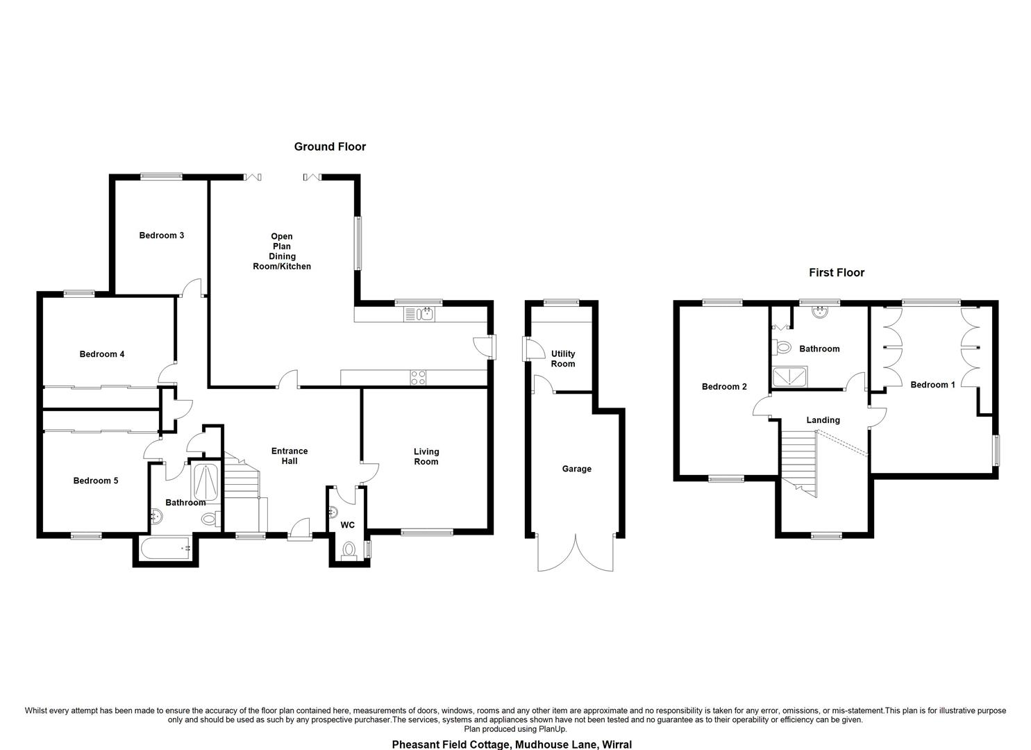 5 bed detached house for sale in Mudhouse Lane, Burton