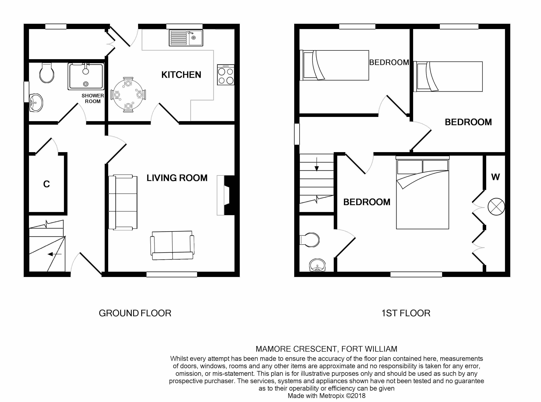 33 Mamore Crescent Fort William Ph33 3 Bedroom Semi