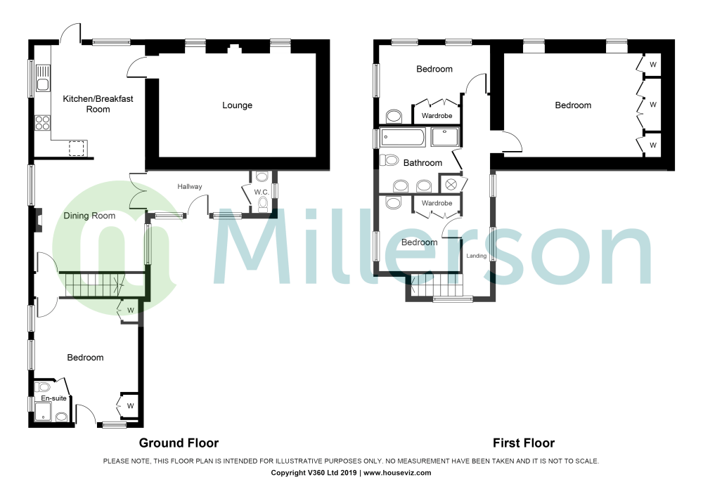medium resolution of goonreeve st gluvias penryn tr10 4 bedroom detached house for note this diagram is not to scale intended for illustrative purposes