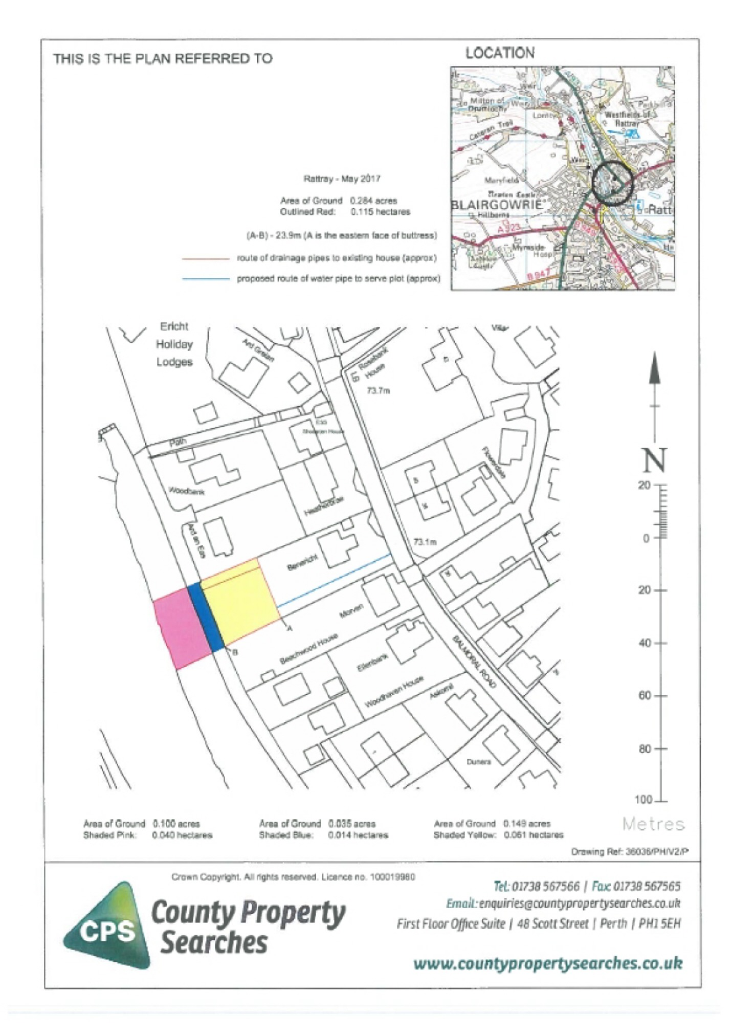 Land For Sale In Riverside Road Blairgowrie Perthshire Ph10