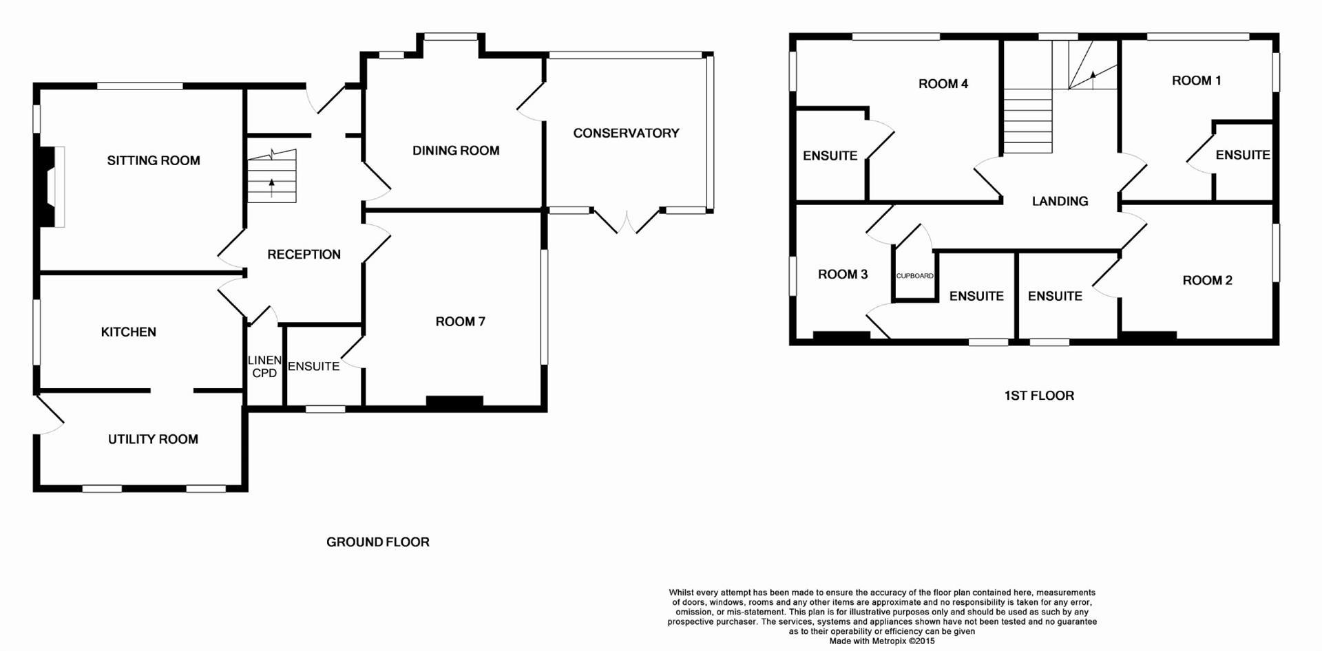 Penwinnick Road St Austell Pl25 5 Bedroom Detached
