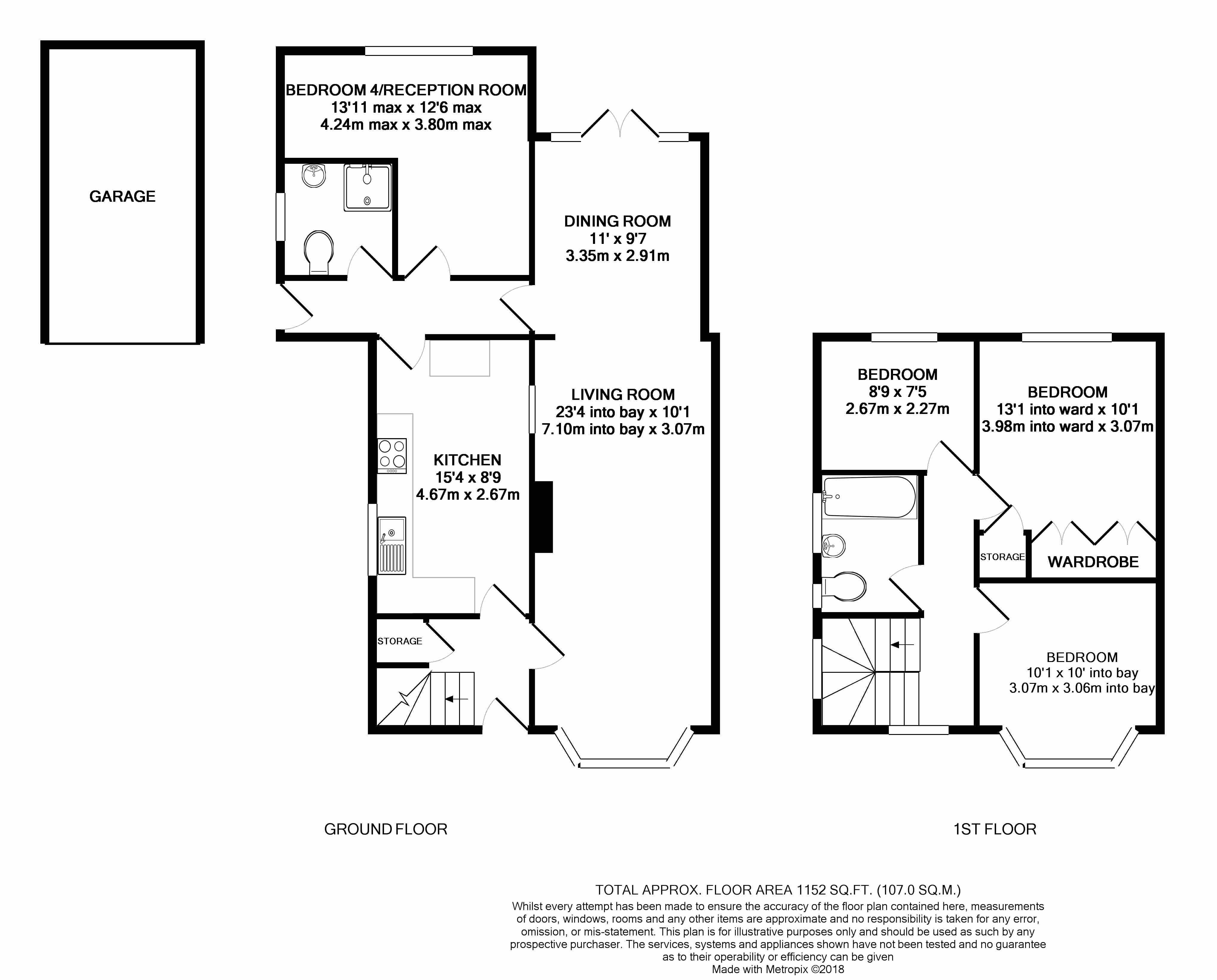 4 bed semi-detached house for sale in Rosary Gardens