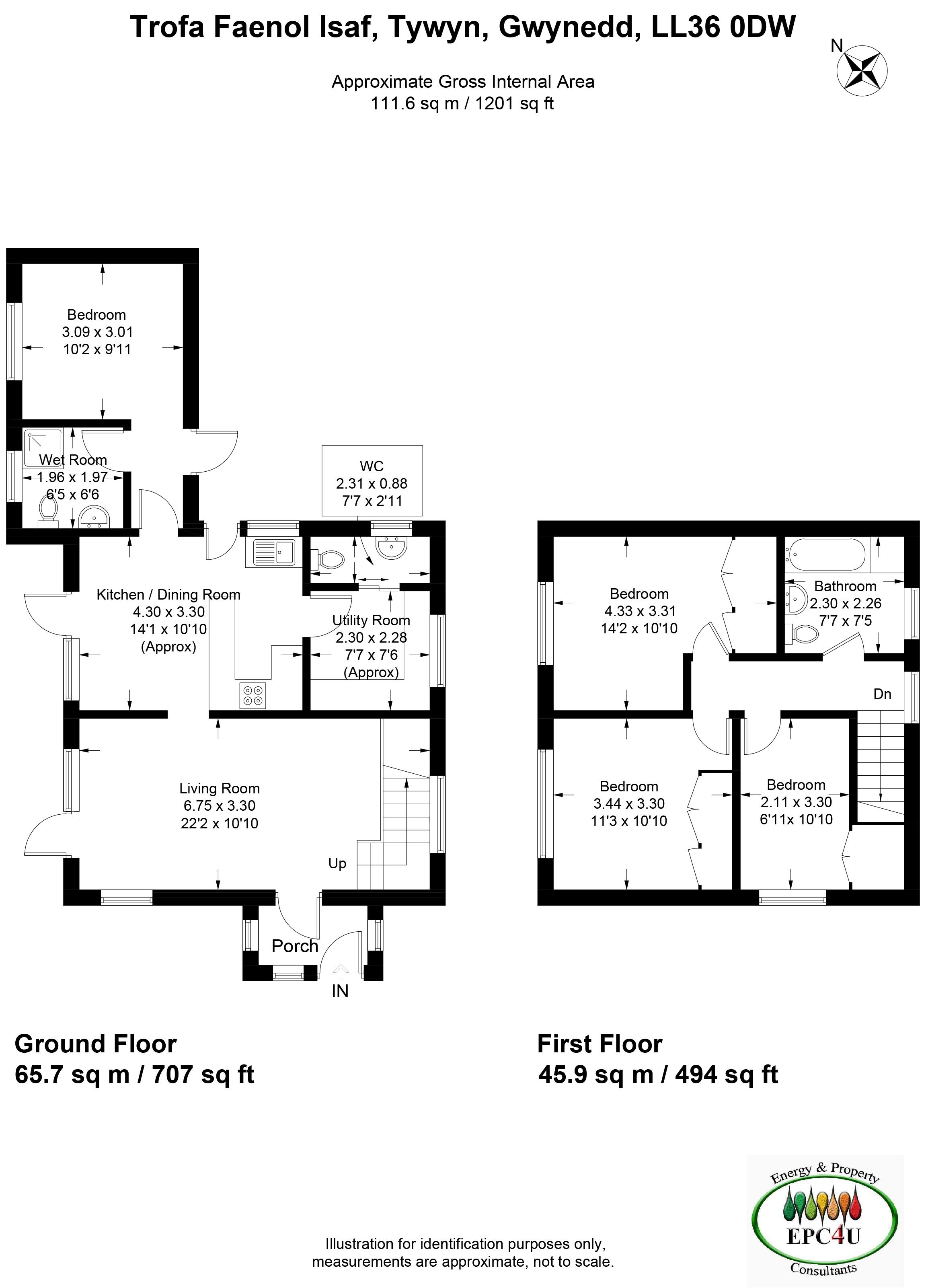 Faenol Isaf, Tywyn, Gwynedd LL36, 4 bedroom detached house