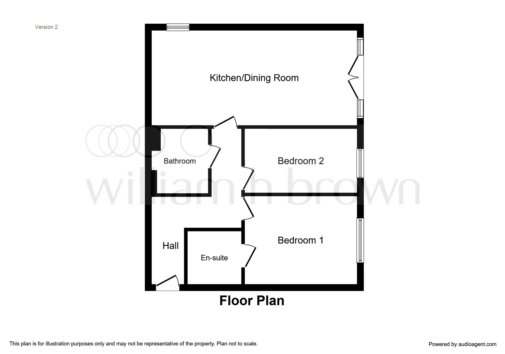 2 bed flat for sale in Haverhill Grove, Wombwell, Barnsley
