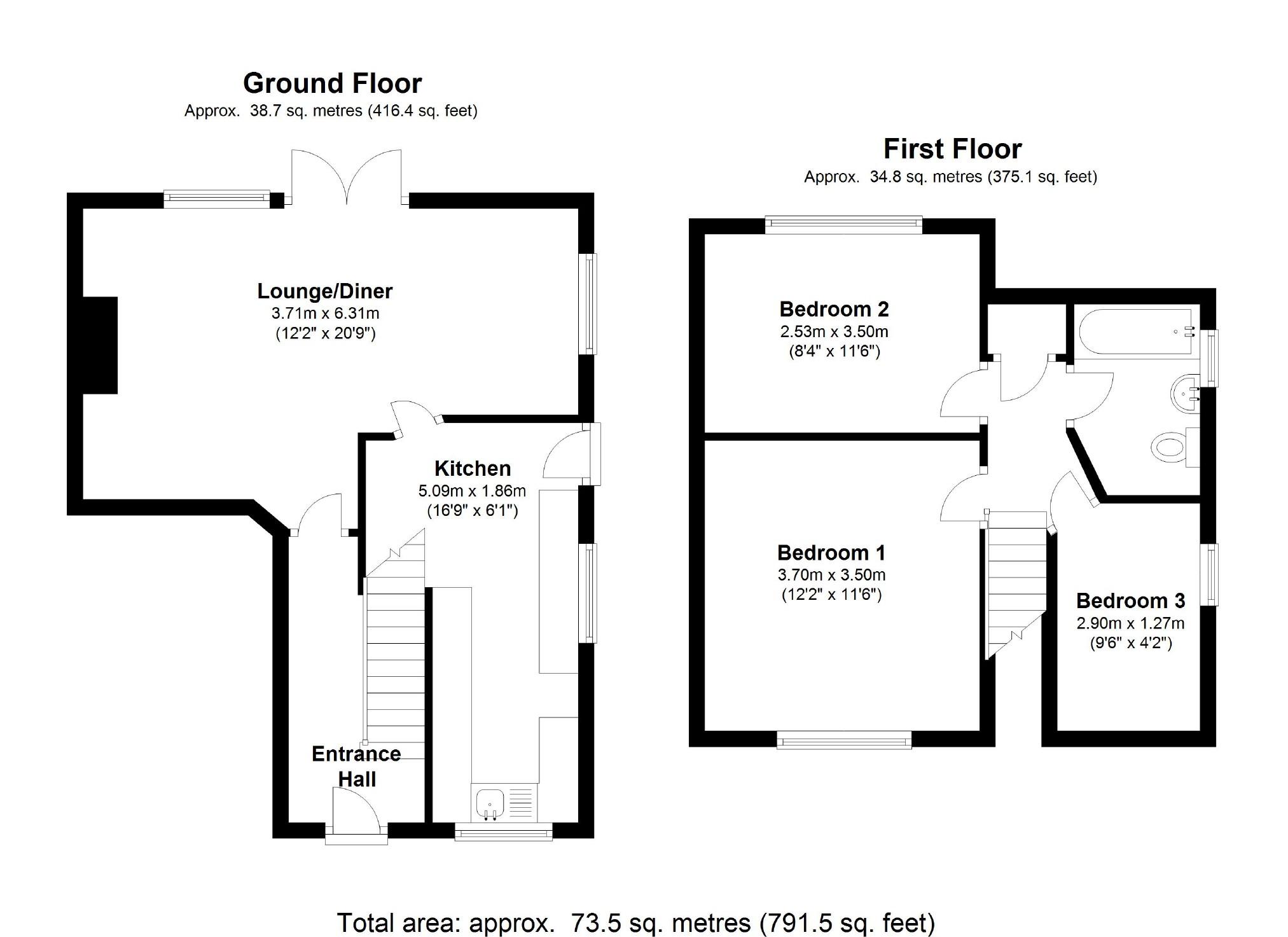 Juniper Close, Coleview, Swindon SN3, 3 bedroom semi