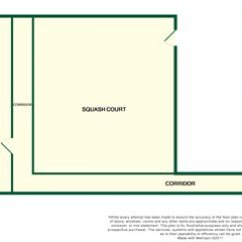 Squash Court Diagram Wiring Light Switch Outlet Land For Sale In Courts Senhouse Street Maryport Ca15 Zoopla Floorplan 1