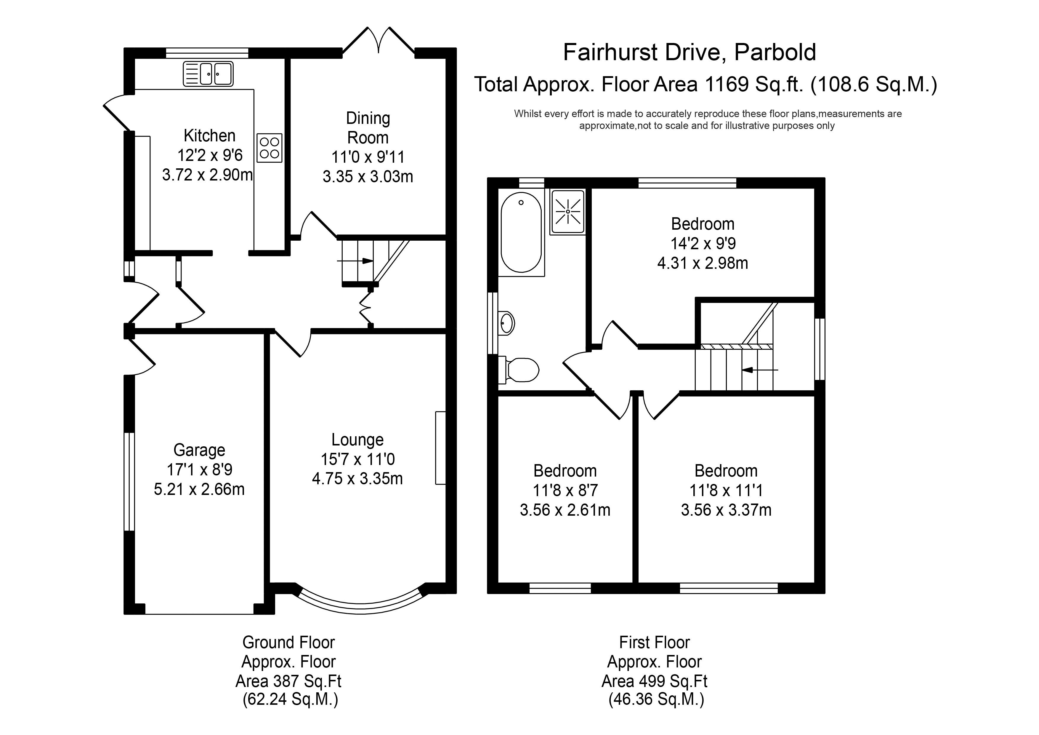 3 Bed Detached House For Sale In Fairhurst Drive Parbold