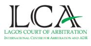 Lagos Court of Arbitration Logo