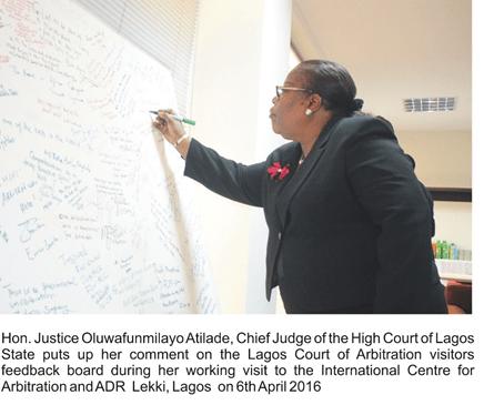 Lagos Chief Judge