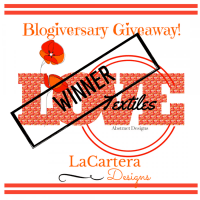 Textile Giveaway Winner!