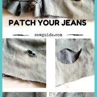Sewing Tip - 8 Ways to Attach PATCHES on Clothes