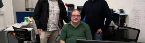 Steve McIntyre, Former Head of the Debian Project, visits LCAS
