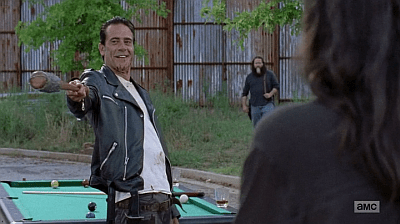 The Walking Dead - Heart Still Beating 7 8 - negan with lucille